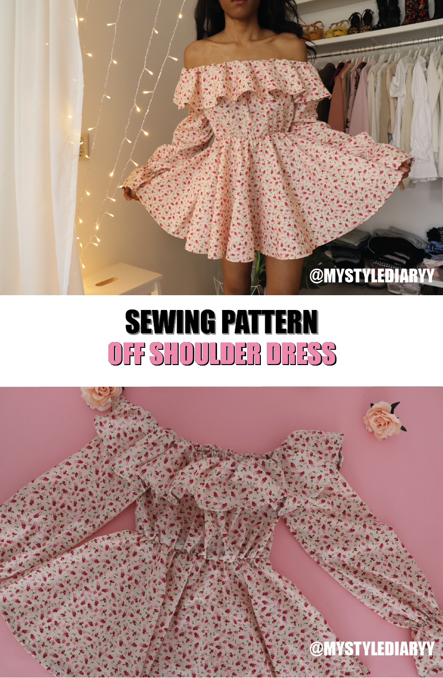 Off The Shoulder Dress Pattern For Women Skater Dress With Ruffle Sleeves And Neckline Instant Download Pdf Sewing Pattern Dress Sewing Patterns Dress Patterns Diy Dress Patterns [ 1378 x 900 Pixel ]