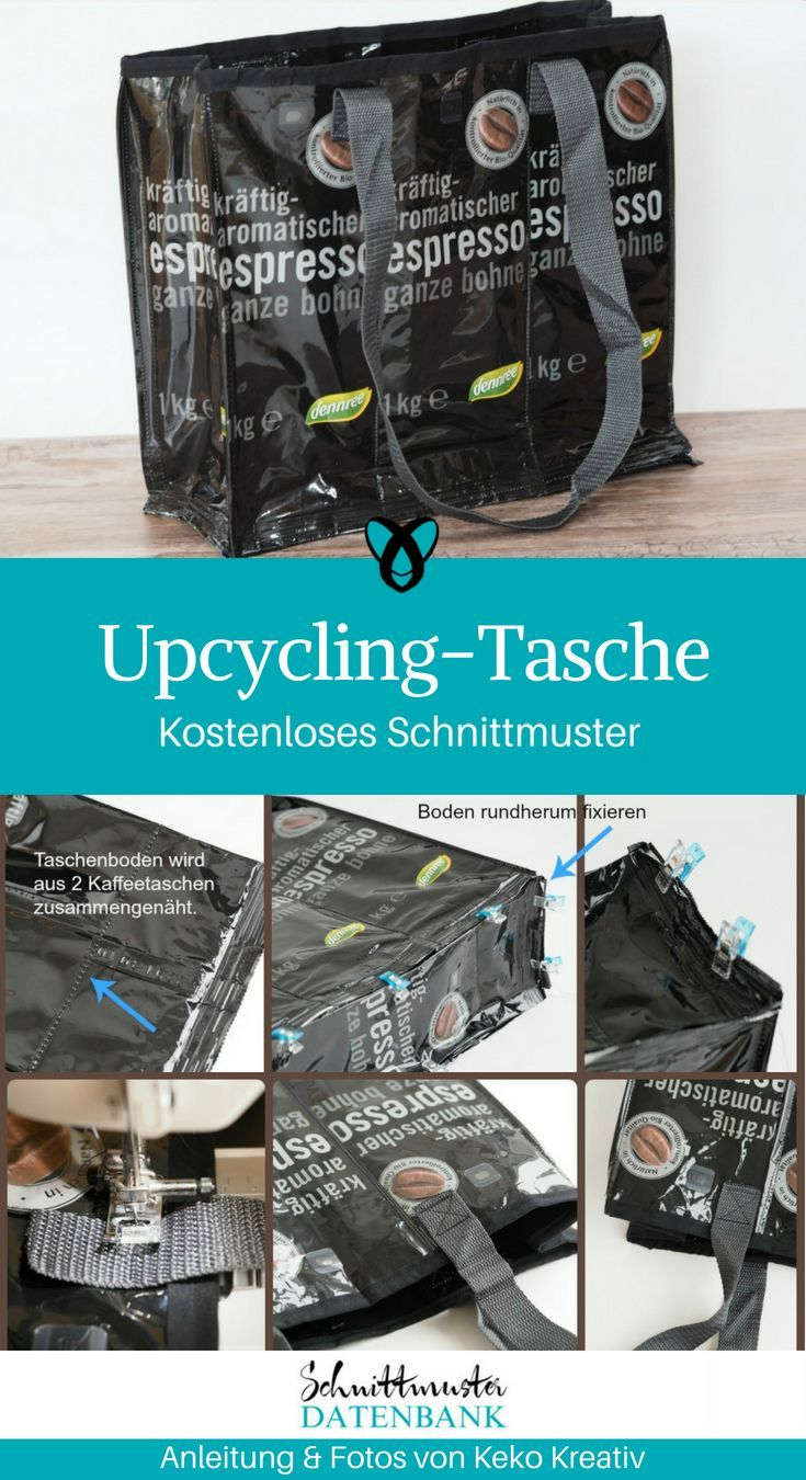 Photo of Upcycling bag made from coffee bags