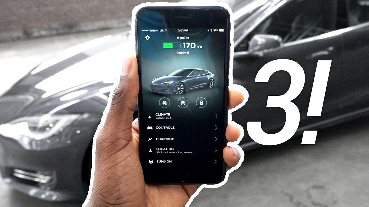 Tesla p100d app v30 review with images tesla app