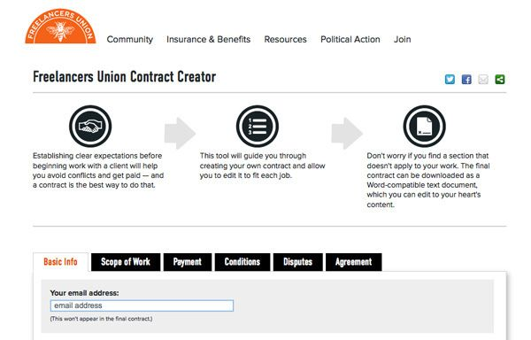 Create Custom Contracts For Your Freelance Projects  Free And