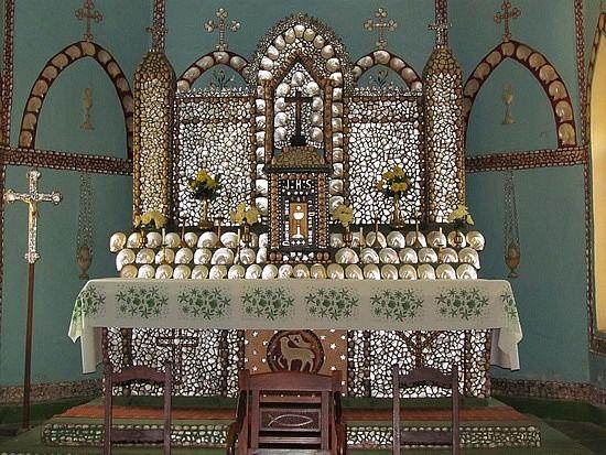 Seashell Altar Western Australia Sacred Heart Tabernacle