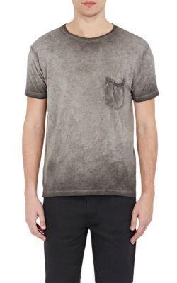 Classic crew-neck T-shirt Saint Laurent Free Shipping Visa Payment Cheap Sale Fashion Style HSmZ7