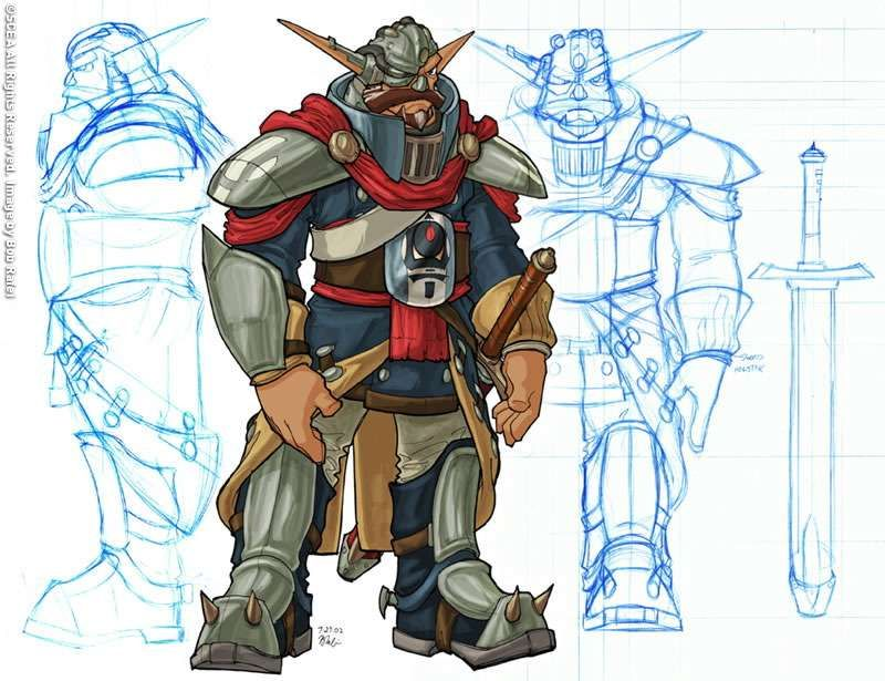 Baron #ConceptArt from #JakII by #BobRafei