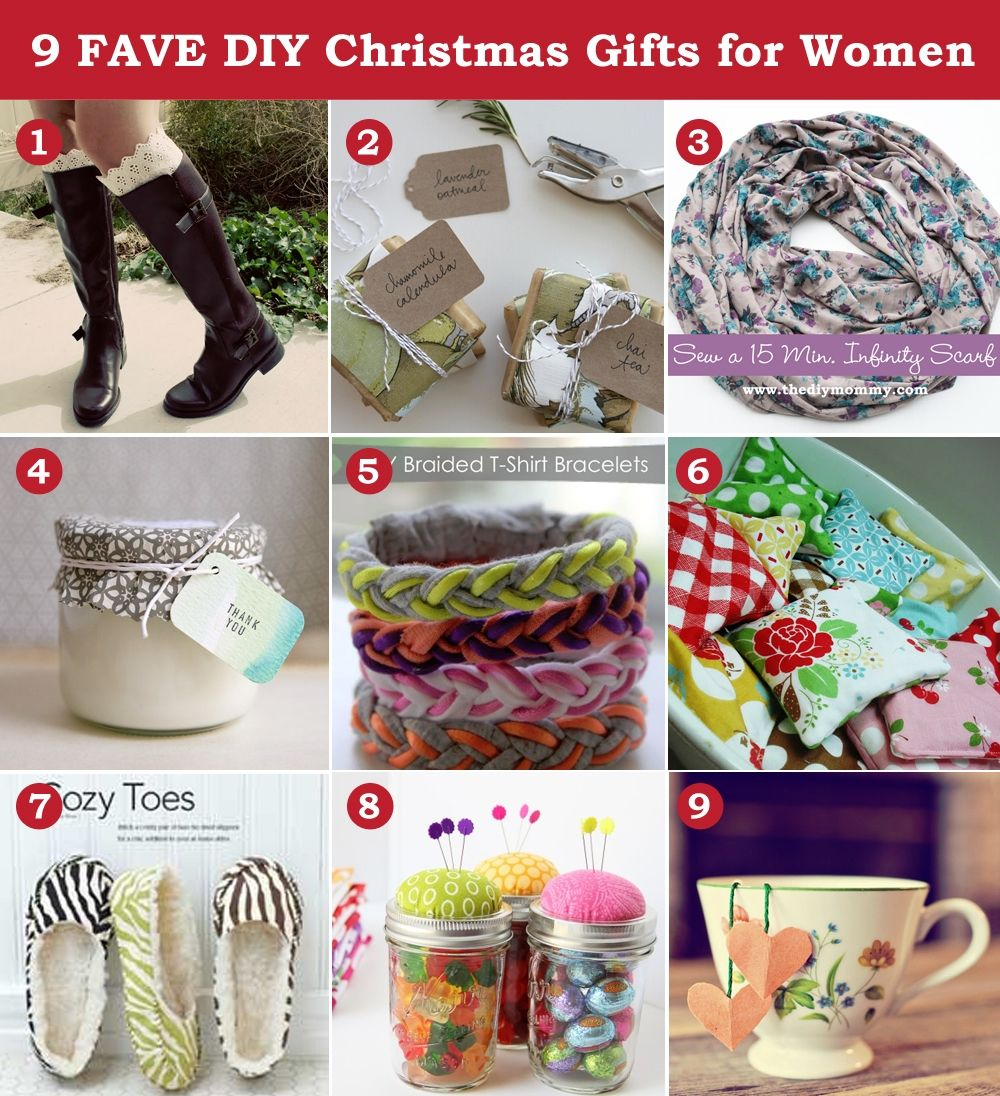 Awesome christmas gift ideas for women unique ideas personalized a handmade christmas diy gift ideas for women by the diy decorating ideas it yourself fashion made solutioingenieria Gallery