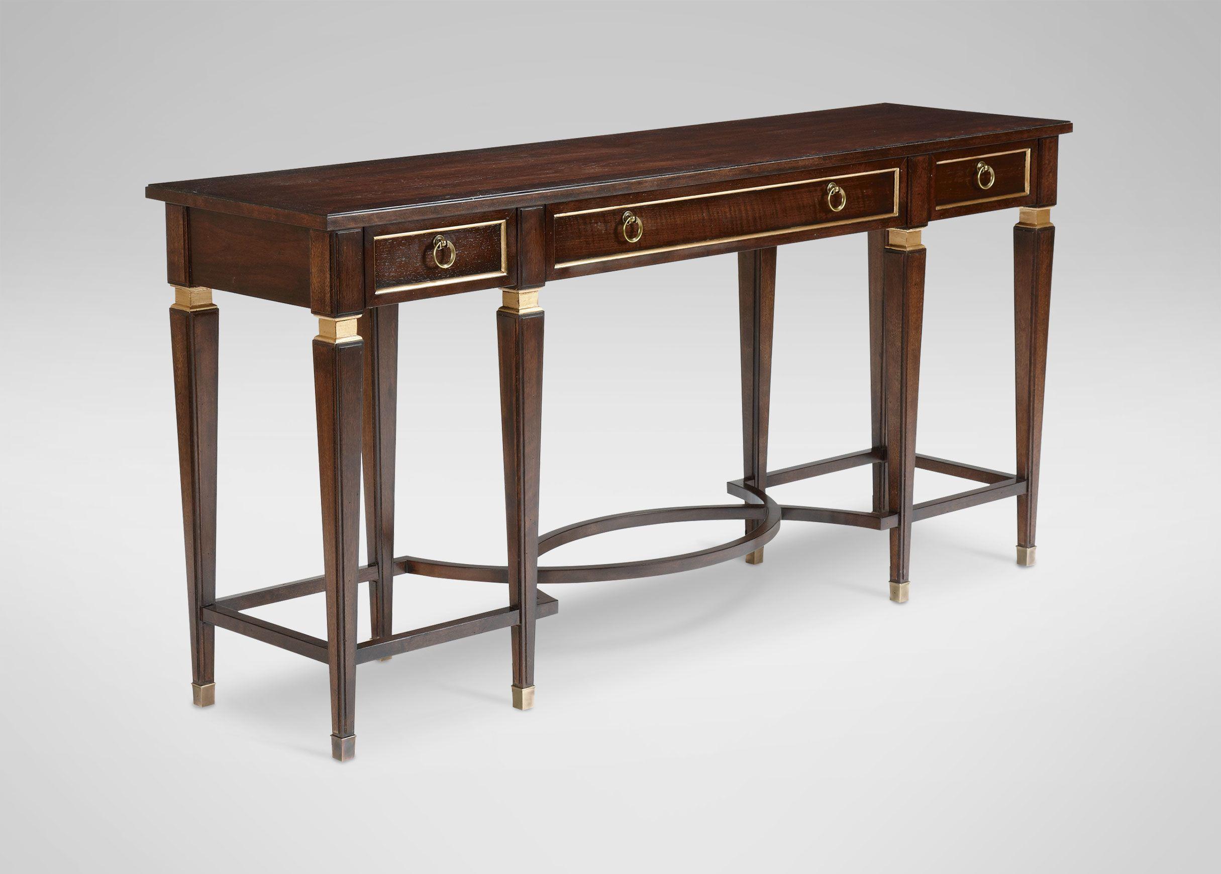 elmont console table - ethan allen | dining | pinterest | shops
