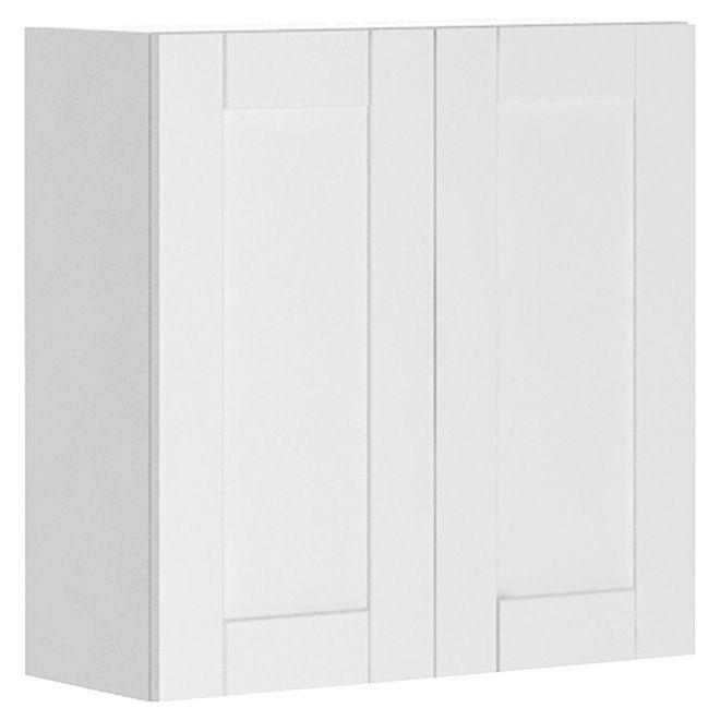 Armoire de cuisine à 2 portes « Chic Urbain », blanc My dream
