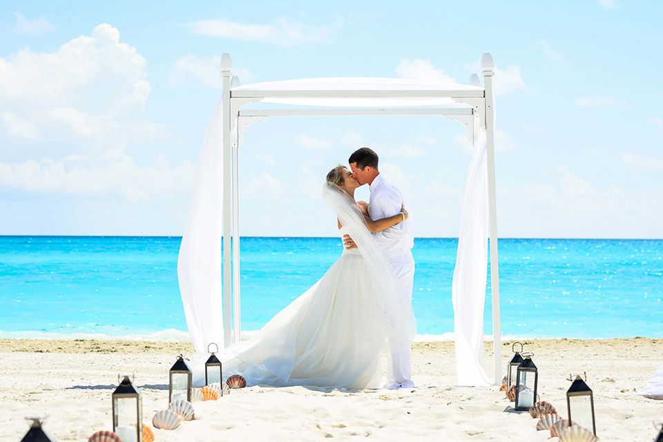 all inclusive beach wedding destinations%0A Perfect setting for a Beach Wedding at Sandals Emerald Bay   Bahamas Destination  Weddings   Romantic