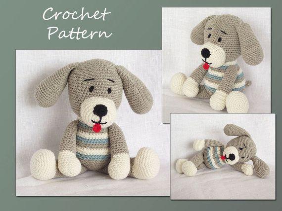 Crochet Pattern Amigurumi Pattern Amigurumi Toy Dog Animal