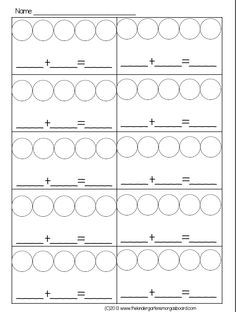 two color counters math worksheets google search numbers math manipulatives kindergarten. Black Bedroom Furniture Sets. Home Design Ideas