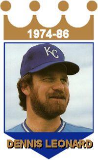Dennis Leonard Kansas City Royals Kc Royals Forever Royal