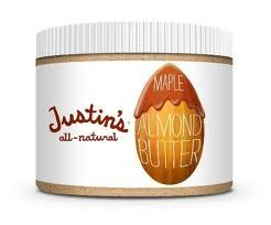 Justin's all-natural maple almond butter- my new addiction!