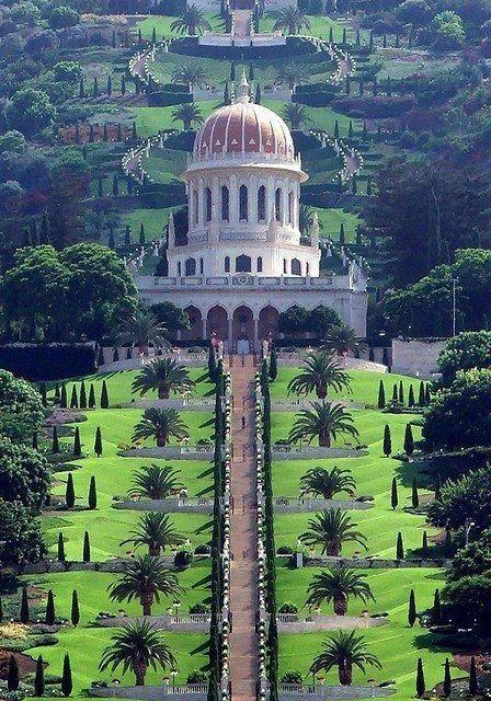 Baha'i Gardens - Haifa. Israel.