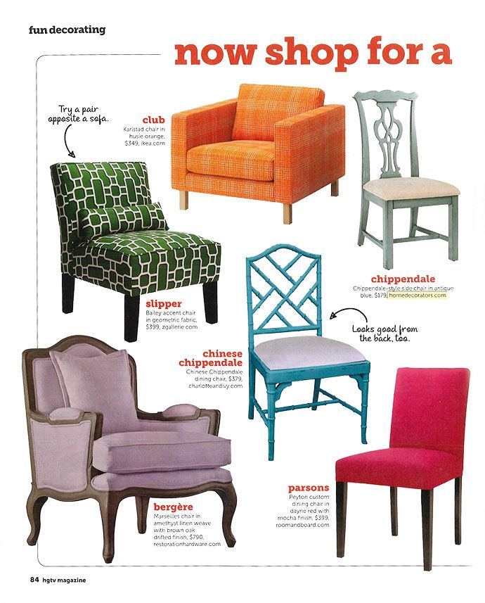 Chair By Its Names Club Chair Chippendale Chair Chinese Chippendale Chair Bergere Parsons Slipper Chair