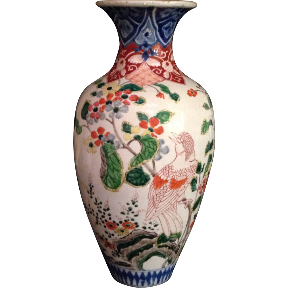 Large japanese antique ko imari edo period rare hizen porcelain japanese antique meiji period rare hizen porcelain large imari baluster vase from the many reviewsmspy