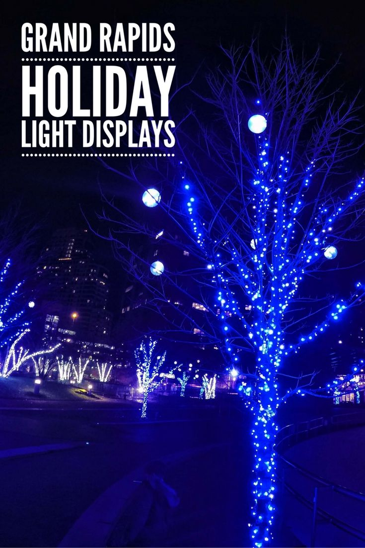 Christmas Light Shows and Displays Near Grand Rapids The