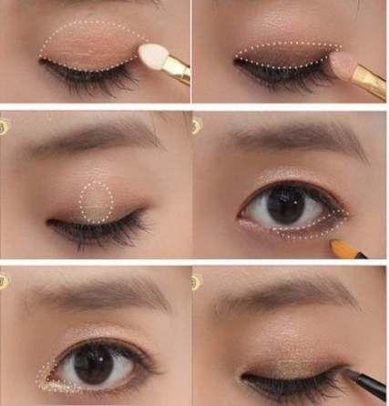 54 ideas hair color asian brown makeup tutorials for 2019