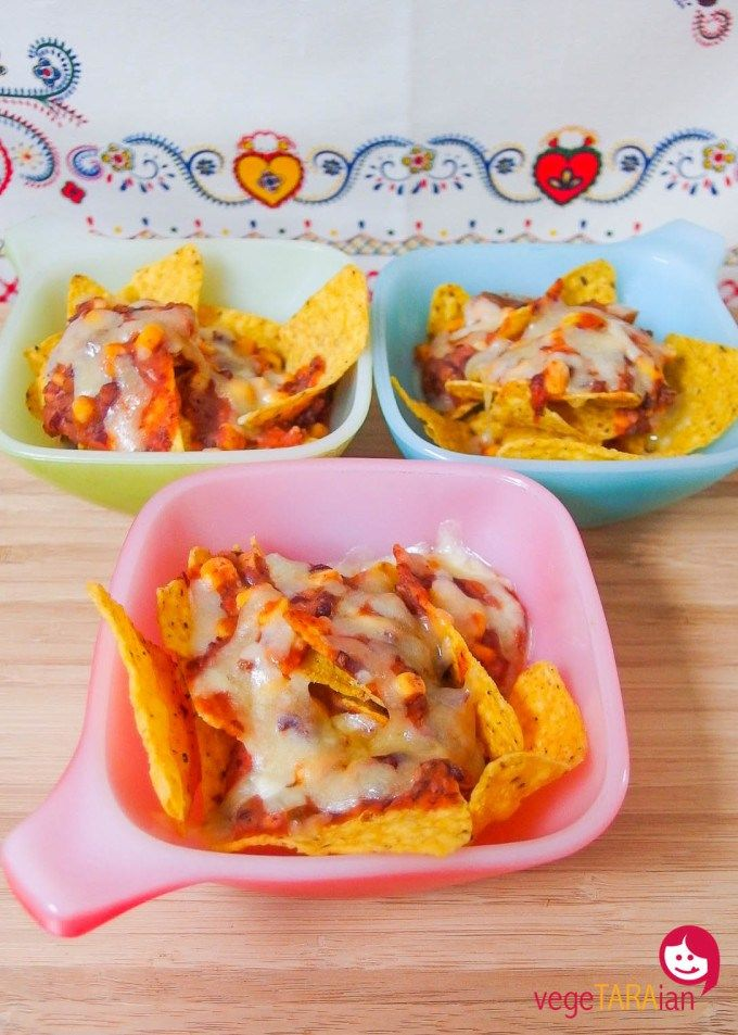 Individual veg nachos vegetaraian recipes from australian food a quick and easy mexican style snack that everyone will love forumfinder Choice Image
