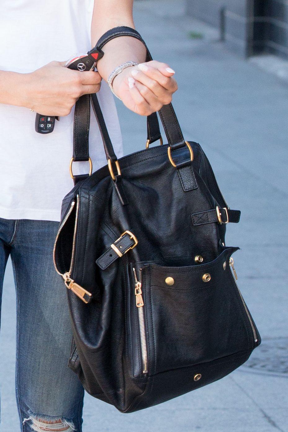 c56ed0f7030 YSL Downtown Bag | Cara Disclothed | Bags, Tote handbags, Ysl