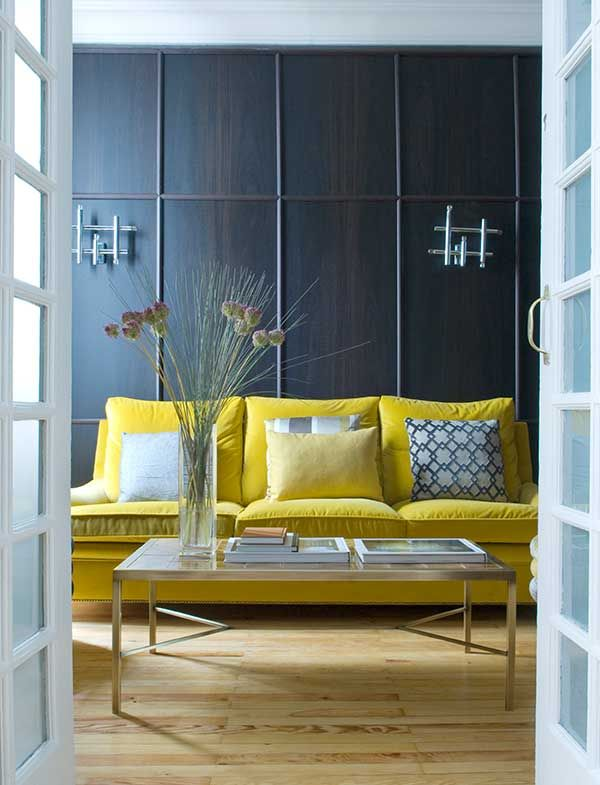 Best Yellow Blue 17B Living Room Color Schemes Yellow Sofa 400 x 300