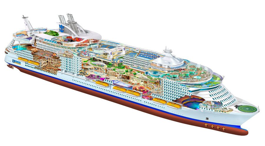 How To Decorate A House With Oasis Of The Seas Deck Plans - Cruise ship floor plans