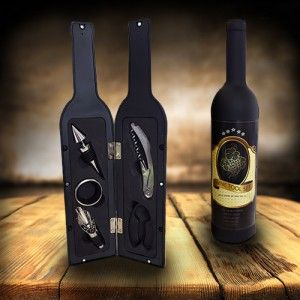 Home Innovations 5 Piece Wine Bottle Tool Set Unique Wine Bottles Wine Bottle Bottle