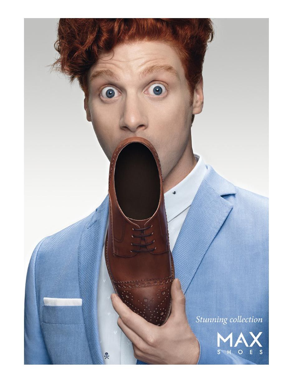 Advertising Campaign MAX Shoes Stunning Collection AD