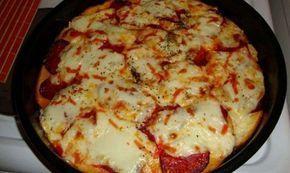 Käsepizza aus altem Brot für ein paar Mäuse #czechrecipes Käsepizza aus altem Brot für ein paar Mäuse #czechfood
