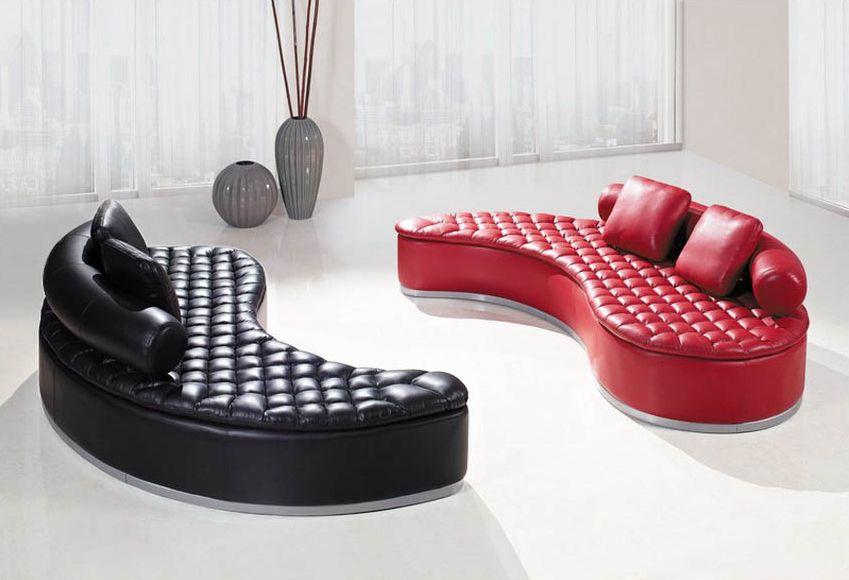 Yang Sofa yin-yang bonded leather sectional sofa | amazing furniture