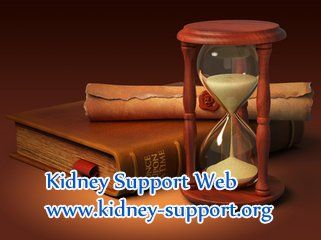Usually, the patient with severe renal impairment will need to take dialysis. But when should kidney disease patient take dialysis ?