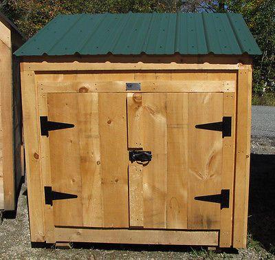 Garden Sheds 3x5 garbage bin 3x5 diy plans - garbage / storage / garden / pool