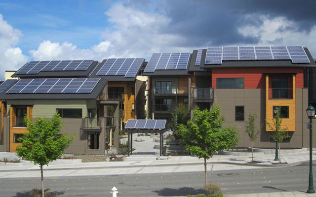 8 Amazing Green Buildings That Break Even On Energy Consumption Green Building Sustainable Architecture Issaquah