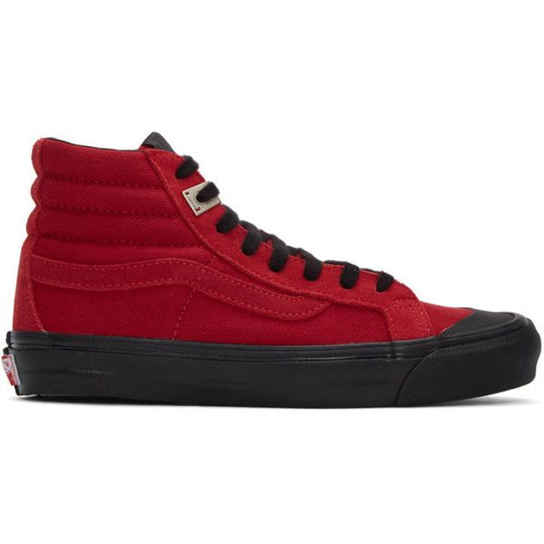 1a19e20f2f5d Vans Red Alyx Edition OG Style 138 LX High-Top Sneakers ( 165 ...