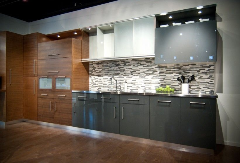 Contemporary | Woodways Custom Cabinets Chicago Showroom) Mix And Match  Cabinets Http://woodwayscustom.com