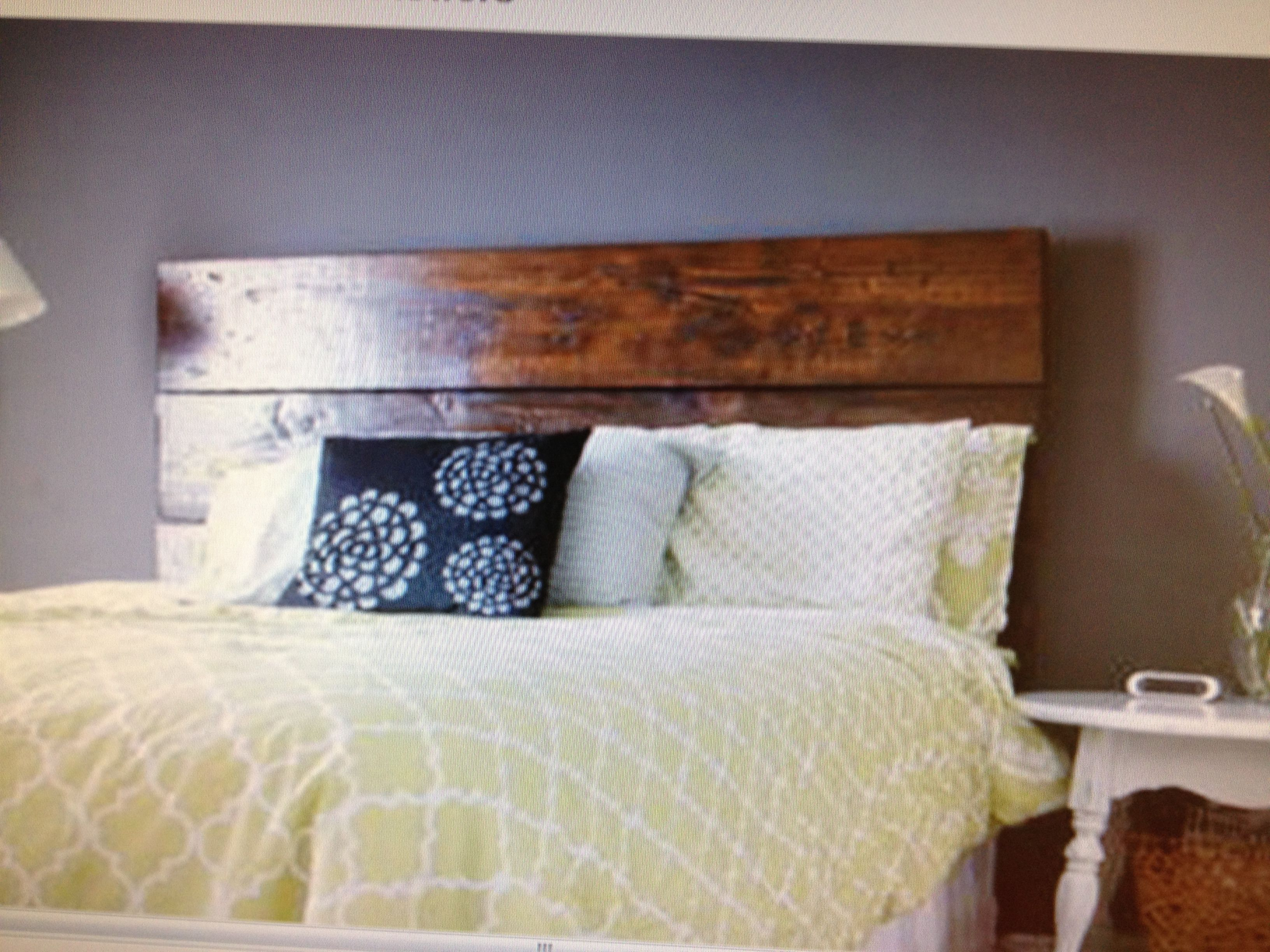 Do It Yourself Home Decorating Ideas: Easy Do It Yourself Headboard