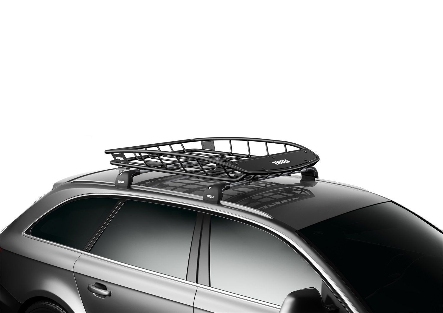 Thule Thule859 Jeep Canyon Roof Rack Cargo Basket Thule859 Ship Cargo Carriers Roof Box Roof Rack