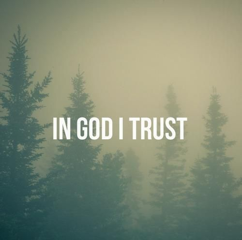 And in HIM ONLY! ♥