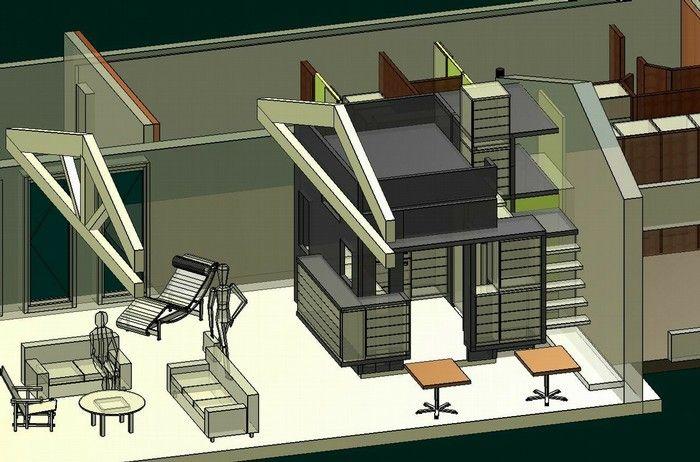 RENOVATION D\u0027UNE MAISON A CANNES Projet Pinterest - plan d une maison en 3d