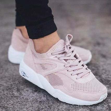 Sneakers 2017 2018Puma Femme Trendy Rose R698 Baskets Soft 8m0wNn