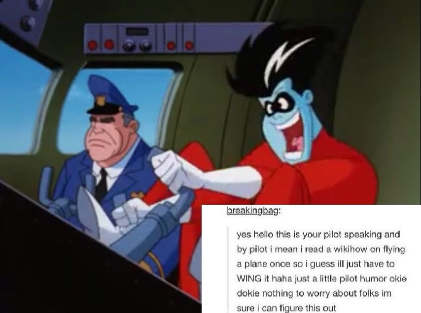Pin by your friendly neighborhood ner on Freakazoid⚡️ (With images) | Pilot  humor, Animaniacs, Laughter