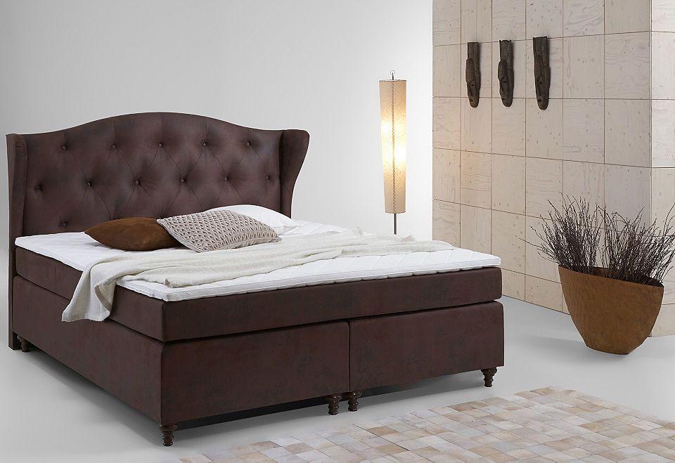 Home affaire Boxspring-Bett »Felix« Jetzt bestellen unter   - schlafzimmer betten günstig