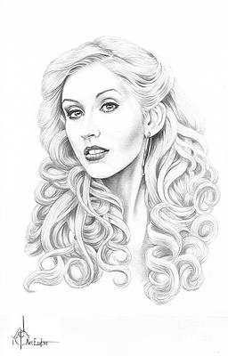 Christina Aguilera By Murphy Elliott In 2021 Celebrity Drawings How To Draw Hair Drawings