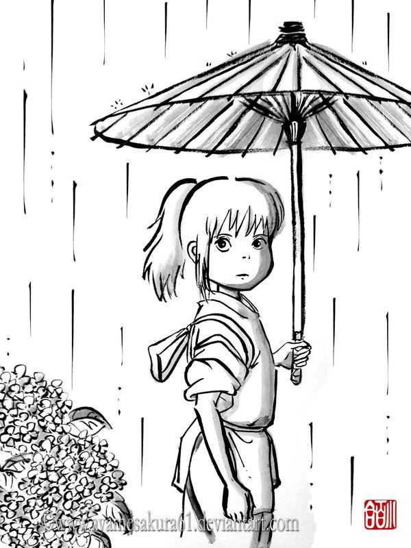 Spirited Away Coloring Pages