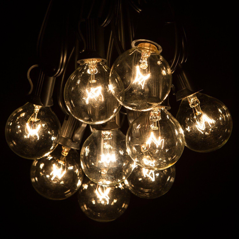 Outdoor Patio Globe String Light Set - GLF Home Pros
