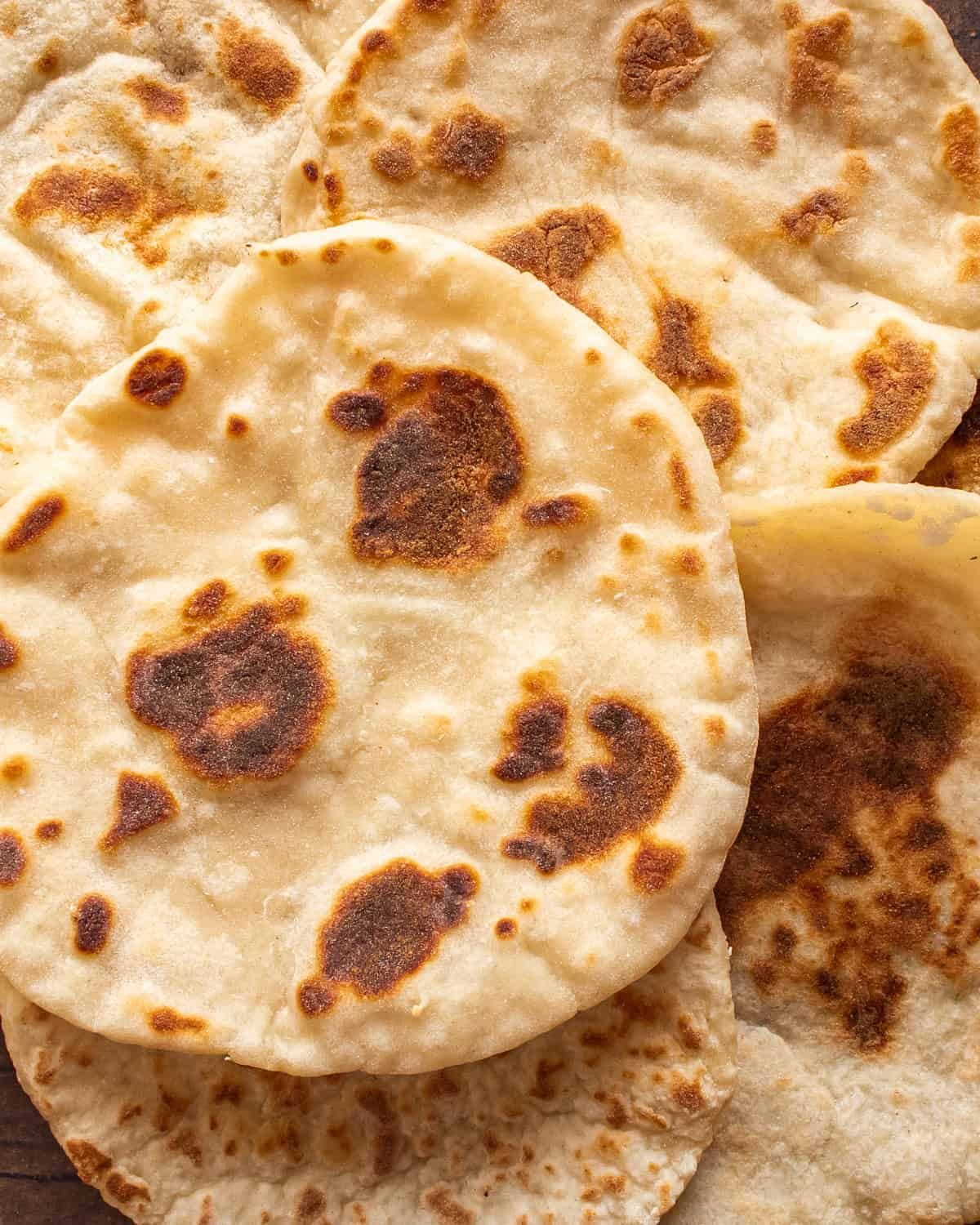 Quick and Easy Naan Bread Without Yeast   Recipe   Recipes ...