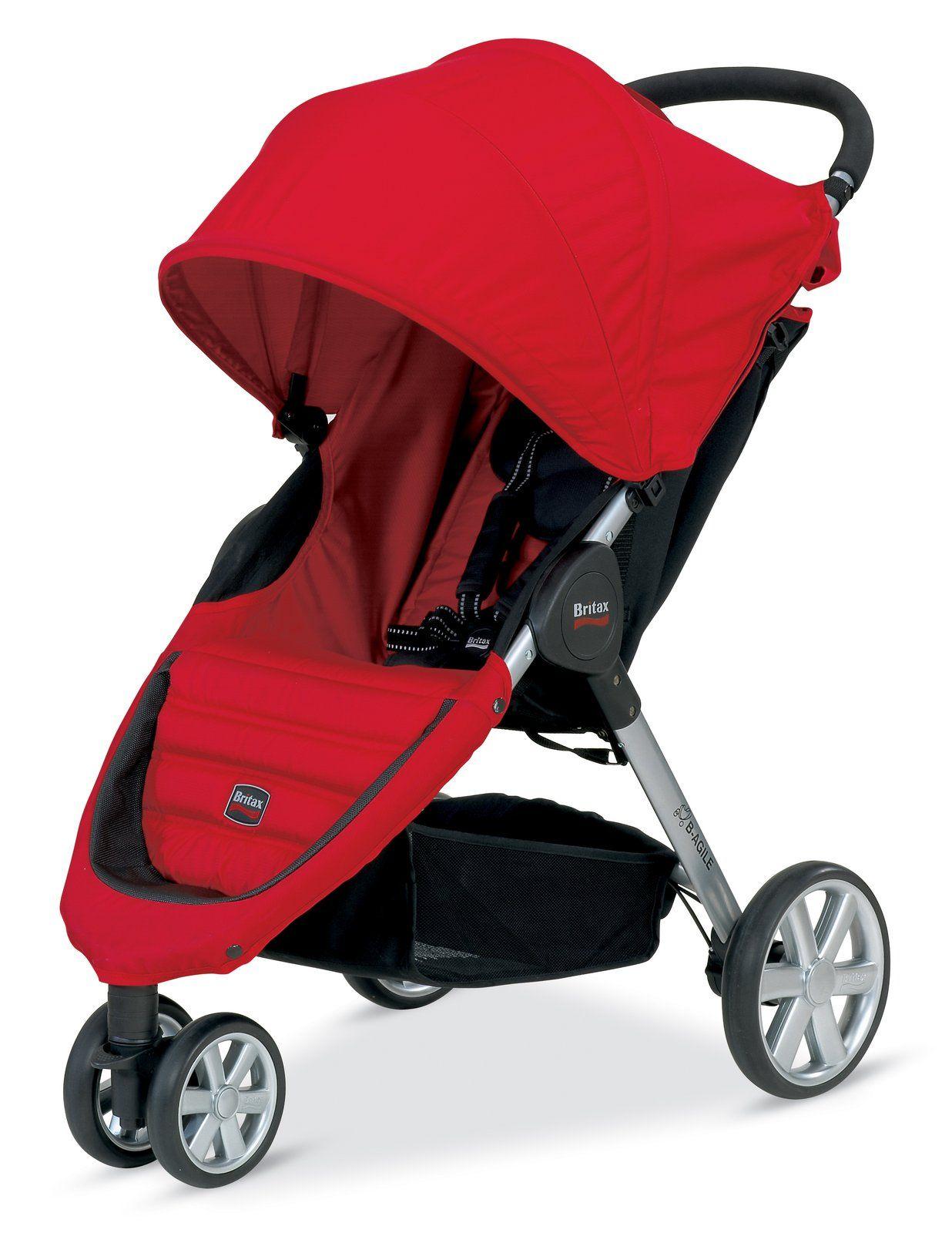 Britax BAgile Stroller Red Best Price Travel system