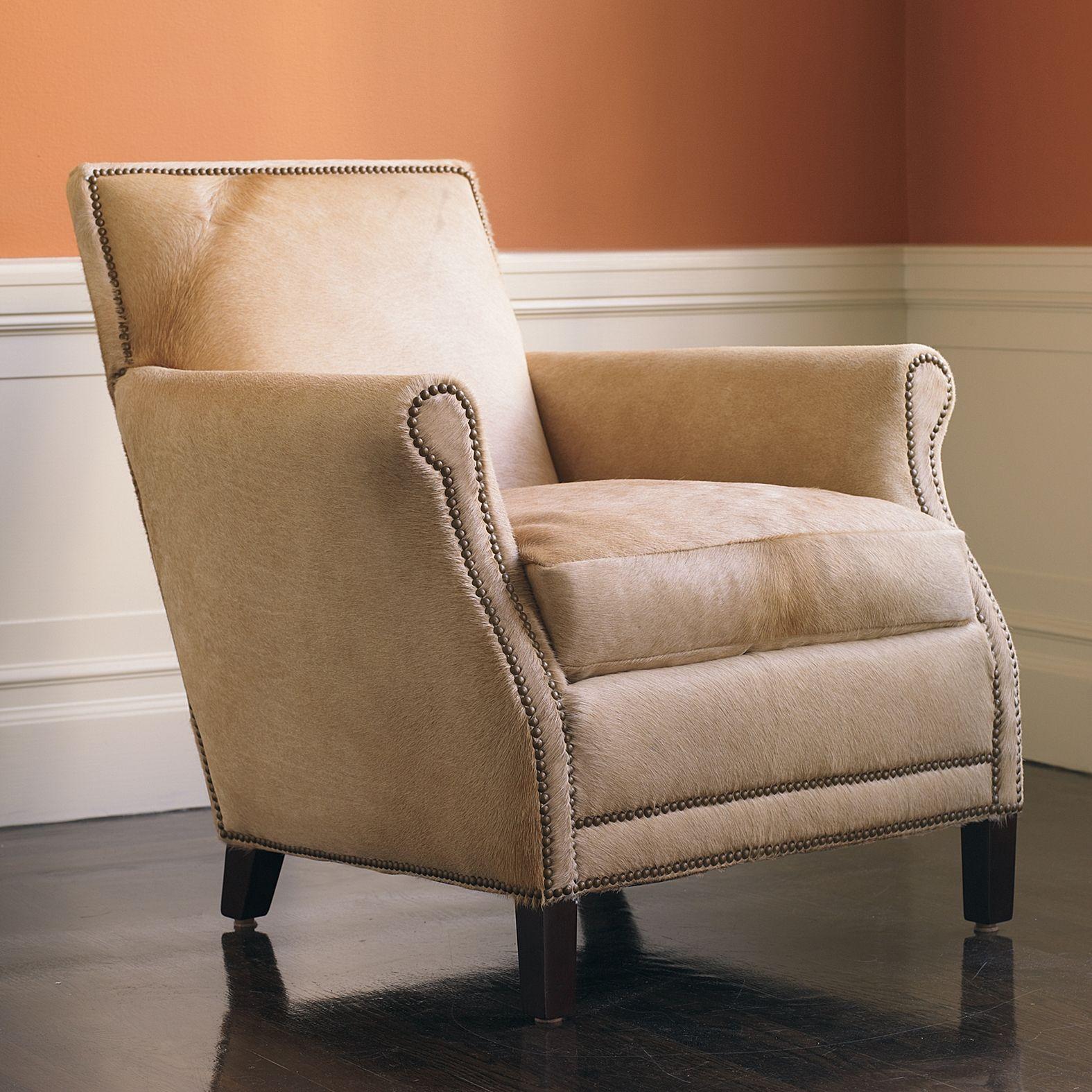 Canyon Chair Serena & Lily Cowhide chair, Chair, Home