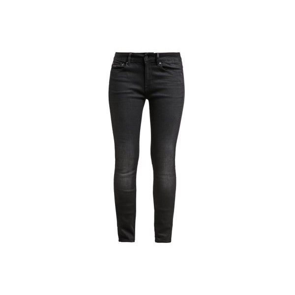 G-Star 3301 CONTOUR HIGH SKINNY ❤ liked on Polyvore featuring jeans, super skinny jeans, skinny jeans, slim fit skinny jeans, black skinny leg jeans and black slim fit jeans
