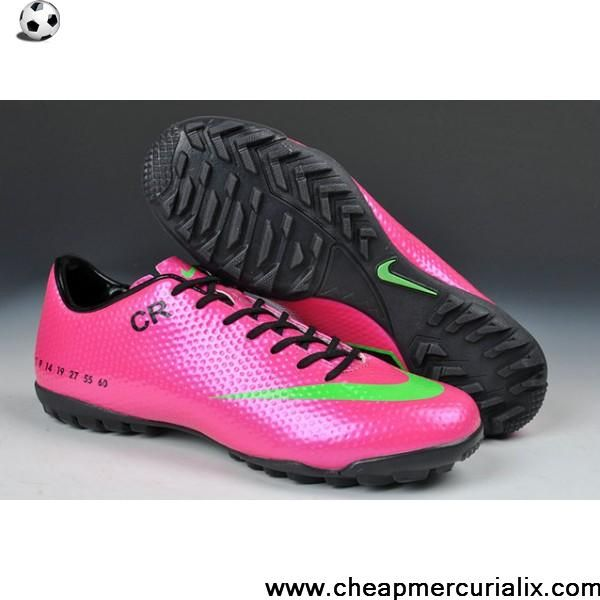 9aee9a26d Low Price Limited Edition Nike Mercurial Vapor IX CR SE TF Football Futsal  Pink Green Black Soccer Shoes Shop