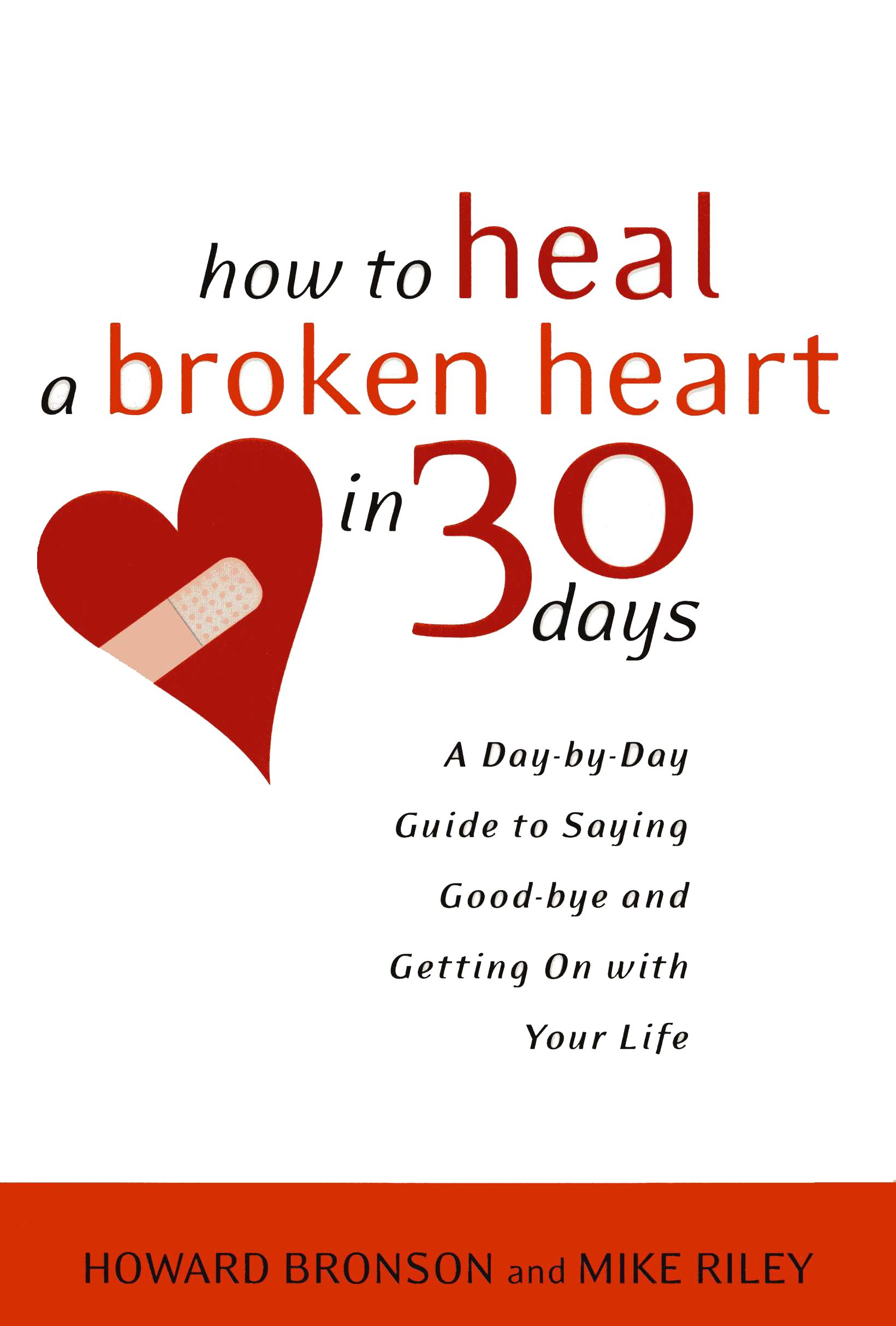 Self help books for broken hearts