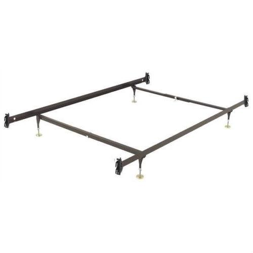 Twin Size Sturdy Metal Bed Frame With Hook On Headboard Footboard Brackets Full Metal Bed Frame Metal Beds Bed Frame